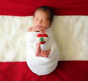 """Cómo está hoy George, el """"bebé milagro"""" que nació en medio de la tragedia de la explosión en Beirut"""