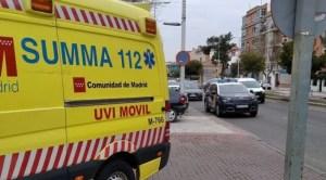 Un bebé en estado grave tras caerse desde la ventana de un segundo piso en Madrid