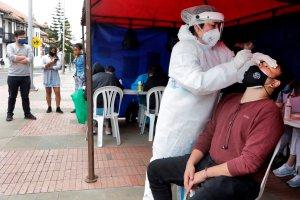 Colombia sumó más de mil nuevos casos de coronavirus