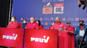Diosdado extendió unas horas más las cuestionadas primarias del Psuv, pese a la violencia