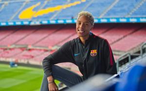 Las felicitaciones del Barcelona FC a Yulimar Rojas tras obtener el oro olímpico en Tokio 2020