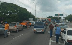 Reportan fuerte retraso vehicular en la Autopista Regional del Centro #5Ago (Foto)