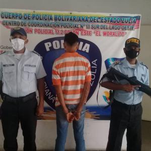 Capturaron en Zulia a un hombre que violó a su hijastra de 13 años en repetidas ocasiones