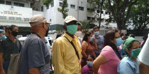 Protestaron en el JM de los Ríos para rechazar atropellos contra quienes denuncian la crisis