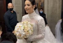 ¡Enhorabuena! Así fue la boda eclesiástica de Daniela Alvarado y José Manuel Suárez (VIDEO)