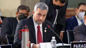 Presidente de Paraguay le dice a Maduro EN SU CARA que no lo reconoce como autoridad de Venezuela (VIDEO)