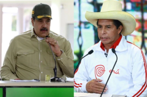 """Inquietud en Perú: Congreso citó al canciller por """"reunión no agendada"""" entre Maduro y Castillo"""