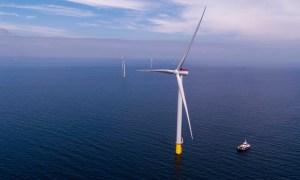 Inaugurado el parque eólico marino más grande de Escandinavia