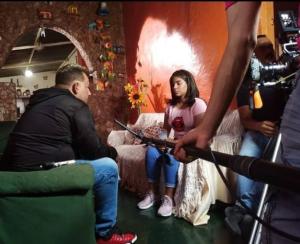 Hay que abrir las puertas al nuevo talento: Lo que dijo Yiusmelis Delgado sobre el cine venezolano (FOTOS)