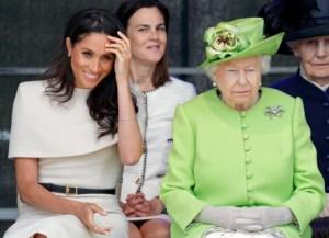 """El """"descarado"""" plan de Meghan Markle y el príncipe Harry para reconciliarse con la reina Isabel"""