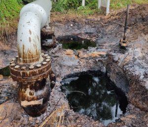 ¿País potencia? Viviendas en Anzoátegui afectadas por derrame petrolero (FOTOS)