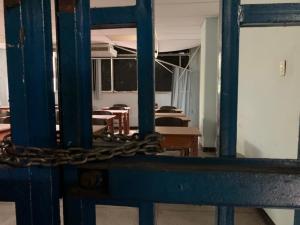 En terapia intensiva las universidades públicas de Aragua (FOTOS)