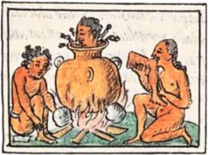 Sangriento origen del pozole mexicano, preparado antiguamente con carne humana