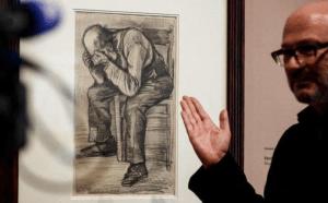 Antiquísimo dibujo de Van Gogh fue expuesto por primera vez en Ámsterdam
