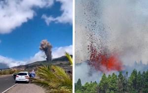 Pedro Sánchez viajará a la isla de La Palma tras la erupción del volcán Cumbre Vieja