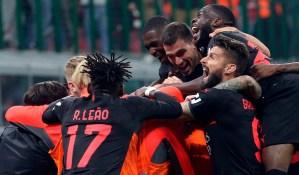 El Milan remontó ante Hellas Verona y escaló al liderato de Serie A