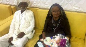 La más longeva del mundo: Mujer de India se convirtió en madre por primera vez a los 70 años