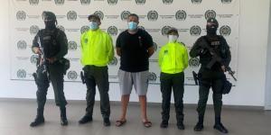 Capturaron en Colombia a narcotraficante francés con casi 50 hombres a su servicio