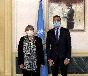 Plasencia pidió cacao ante Bachelet para intentar que se olvide del caso Baduel