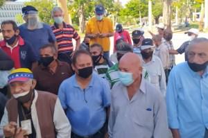 Jubilados de la policía del Zulia exigieron que activen su seguro médico y funerario este #21Oct