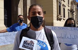 Estudiantes en Mérida rechazan designación de Tibisay Lucena como ministra de Educación Universitaria (Fotos)