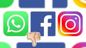 WhatsApp, Instagram y Facebook sufre problemas de funcionamiento en varios países