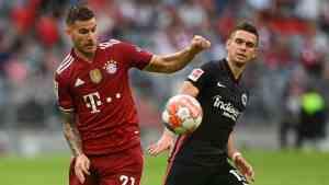 Bayern Múnich sufre su primera derrota de la temporada, en casa ante Fráncfort