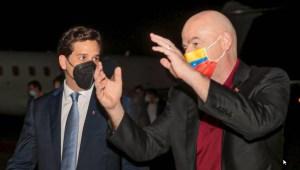 Presidente de la Fifa Gianni Infantino llegó Venezuela para reunirse con la FVF (Foto y Video)