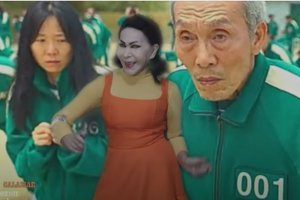 """¿Lo mejor que verás hoy? La Tigresa del Oriente lanzó una canción inspirada en la serie """"El juego del calamar"""" (VIDEO)"""