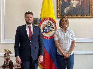 Presidenta de la Cámara de Representantes de Colombia se reunió con el representante de Guaidó y ratificó su apoyo al Gobierno Interino