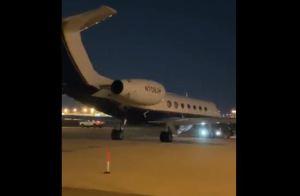 VIDEO: Momento justo en que llegó a Miami el avión con Alex Saab
