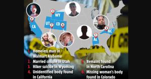 Al menos siete cadáveres han sido descubiertos durante la búsqueda de Brian Laundrie