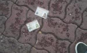 Aparecieron cédulas de identidad tiradas en la Plaza Mayor de Catia la Mar tras operativo del Saime (FOTOS)