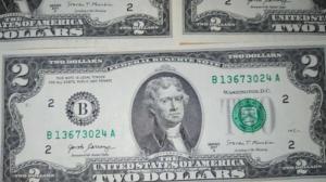 La peculiar historia del billete de dos dólares y la suerte que da a quién lo posea