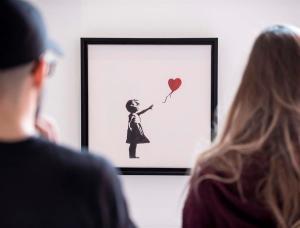 Cuadro destruido por el enigmático grafitero Banksy multiplicó su valor