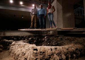 Tras el origen de los sacrificados para la torre de cráneos de Tenochtitlan