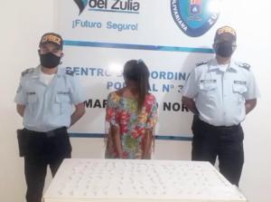 Detenida en Maracaibo por esconder 114 envoltorios de crack entre su vestimenta