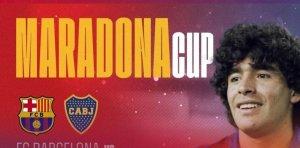 Homenaje para Diego: Boca jugará con Barcelona por la Copa Maradona en Arabia Saudita