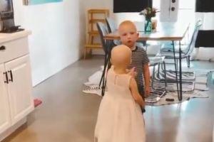 ¡Prohibido llorar! Se reencontraron luego de ganarle al cáncer y conmovieron al mundo (VIDEO)