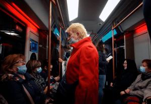 Rusia registró doble récord diario de contagios en menos de 48 horas